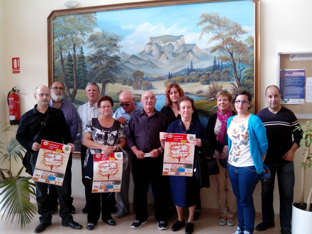 Foto de familia de los ganadores de la última campaña.