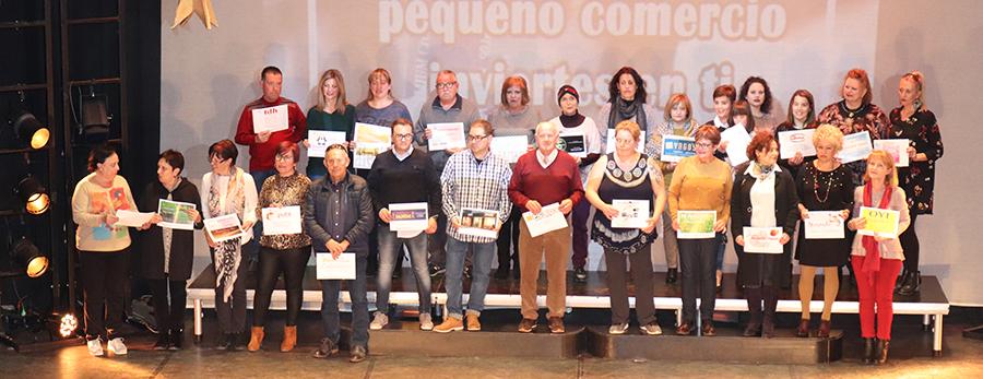 Nuevamente, ganadores de vales de 40 euros; en total se repartieron 108 por esa cantidad y 20 de 100 euros.